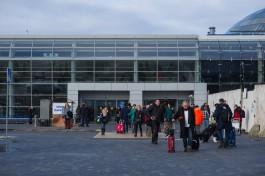 В «Храброво» из-за пожарной сигнализации эвакуировали пассажиров и персонал