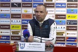 Игнашевич: Задача «Балтики» — вернуться в гонку за верхние места