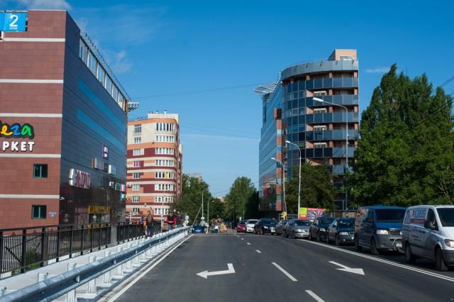 Открылось движение через мост наулице Озерова вКалининграде