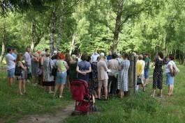 Евгений Верхолаз выступил в защиту Чкаловского леса и против его застройки