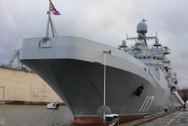Построенный в Калининграде большой десантный корабль «Пётр Моргунов» передали ВМФ России