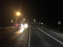 В Гурьевском округе «Хёндай» сбил подростка на пешеходном переходе