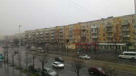 На Пасху в Калининграде выпал снег