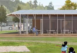 «Смотровая башня, променад и летнее кафе»: в Калининграде показали проект благоустройства парка Теодора Кроне