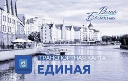Власти Калининграда показали, как будет выглядеть транспортная карта для покупки электронных билетов