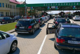 За три месяца российско-польскую границу пересекли 933 тысячи человек