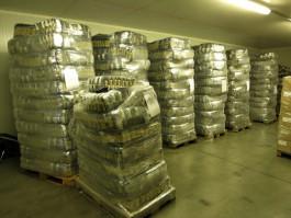 В Калининградскую область пытались незаконно ввезти четыре тонны макарон из Польши