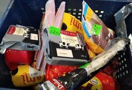 Таможенники изъяли в торговом центре Калининграда 15 кг санкционки