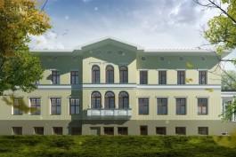 Власти показали проект военно-патриотического центра в исторической усадьбе под Калининградом