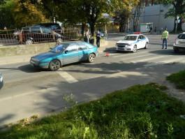 На ул. Красносельской в Калининграде «Мазда» сбила 14-летнего подростка