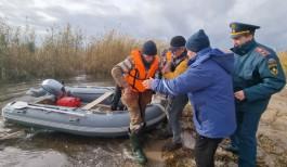 Во время шторма в Калининградском заливе спасли 66-летнего рыбака