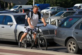 С начала года в Калининградской области пострадали в ДТП 32 велосипедиста