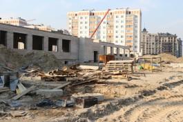 На улице Артиллерийской в Калининграде возобновили строительство школы