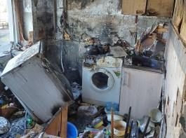 СК: В результате взрыва газа на Леонова в Калининграде пострадал пьяный 55-летний мужчина