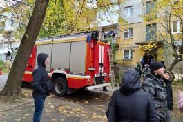 СК возбудил дело после взрыва газа в жилом доме на улице Ушакова в Балтийске