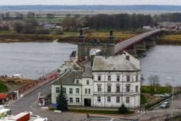 На мосту королевы Луизы в Советске введут реверсивное движение из-за ремонта