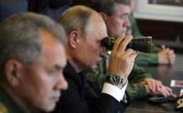 Путин и Шойгу высоко оценили основной этап учений «Запад-2017»