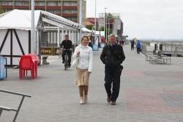 В конце мая в Зеленоградске благоустроят променад у Розы ветров