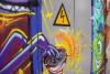 По заданию «Янтарьэнерго» граффитчики разрисовали трансформаторную будку в центре Калининграда