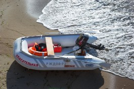 УМВД: Двое калининградцев украли у спасателей в Янтарном лодку, чтобы сплавляться по Преголе