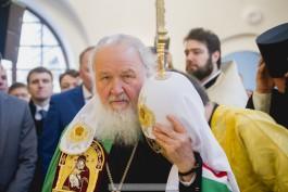 Патриарх Кирилл: Гусев — образец для многих городов, я его не узнал!