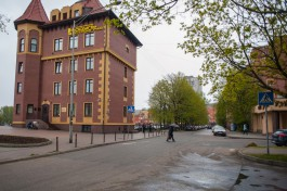 Власти Калининграда сдают в аренду набережную у Юбилейного моста на улице Эпроновской