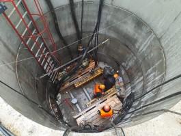 К концу года «Водоканал» построит коллектор, который разгрузит систему водоотведения на улице Тихорецкой