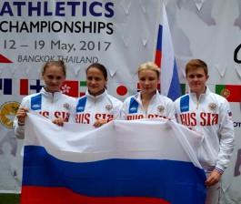 Спортсменка из Калининграда выиграла четыре золота мирового чемпионата по адаптивной лёгкой атлетике