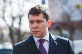 Алиханов рассказал Медведеву о проблемах мелиорации в Калининградской области
