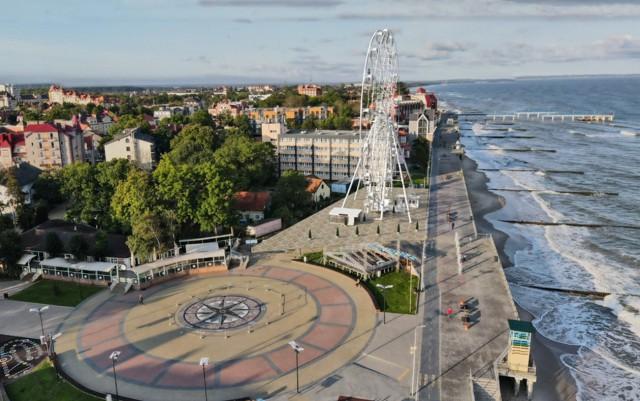 Правительство: Жители Зеленоградска сами будут решать судьбу колеса обозрения на променаде