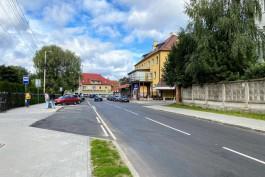 «С тротуаром и без брусчатки»: в Калининграде отремонтировали улицу Колхозную