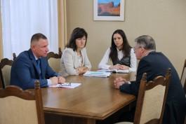Зиничев встретился с послом России в Польше