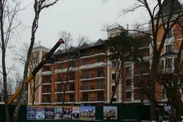 В Светлогорске началось строительство второго корпуса апарт-отеля «Альт Платц»