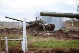 Балтфлот получил на вооружение 30 танков Т-72Б