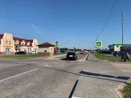 В «Новой резиденции» на въезде в Гурьевск сбили 14-летнюю девочку