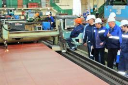 На заводе «Янтарь» начали строить второй траулер для камчатских рыбаков