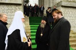 Патриарх Кирилл освятит купола строящегося храма на проспекте Мира в Калининграде