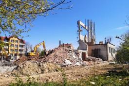 В КЖД объяснили причину сноса здания спорткомплекса на побережье в Зеленоградске