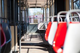 Из-за аварии на сетях в центре Калининграда встали трамваи