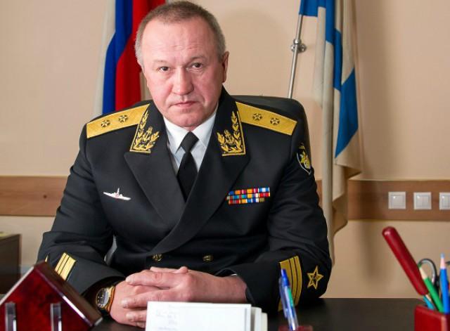 Вице-адмирал Мухаметшин назначен начальником штаба Балтийского флота
