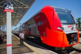 В воскресенье в Светлогорск и Зеленоградск пустят дополнительные вечерние поезда