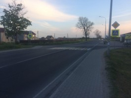 На трассе Калининград — Мамоново мотоциклист сбил четырёхлетнюю девочку
