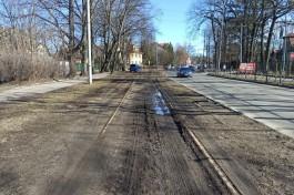 «Стоянка на рельсах»: что стало с трамвайными путями на проспекте Победы и Тельмана, которые хотят восстановить