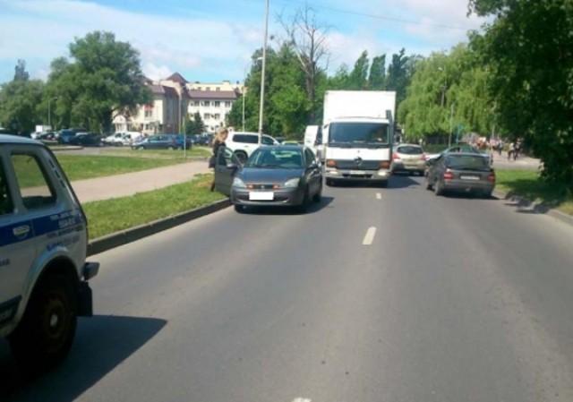 Наулице Куйбышева вКалининграде «Форд» сбил десятилетнего ребёнка