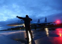 Лётчики Балтфлота отработали навыки воздушного боя на истребителях Су-27
