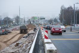 Вторую половину моста на Московском проспекте подрядчик обещает открыть 20 декабря
