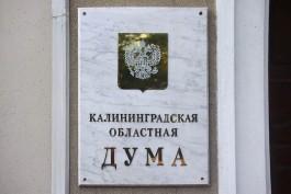 Выборы депутата Облдумы «по округу Рудникова» планируют провести в сентябре 2018 года