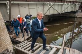 Ярошук: Немецкие военнопленные плохо восстановили Деревянный мост