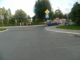 На улице Дзержинского в Калининграде «Субару» сбил подростка на велосипеде