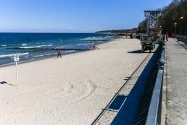 На пляже в Пионерском подросток получил травмы при взрыве жидкости для розжига